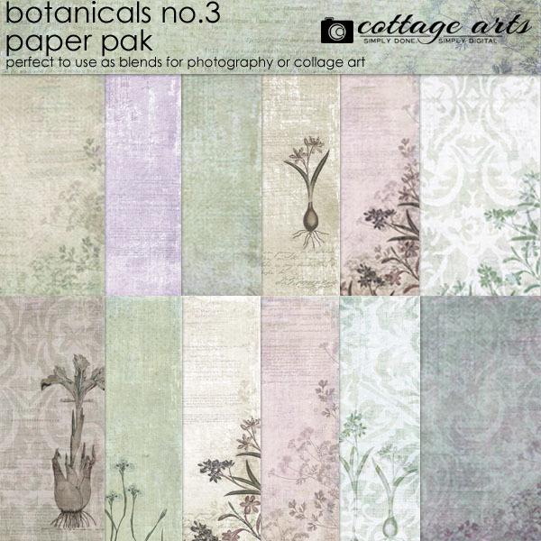 Botanicals 3 Paper Pak