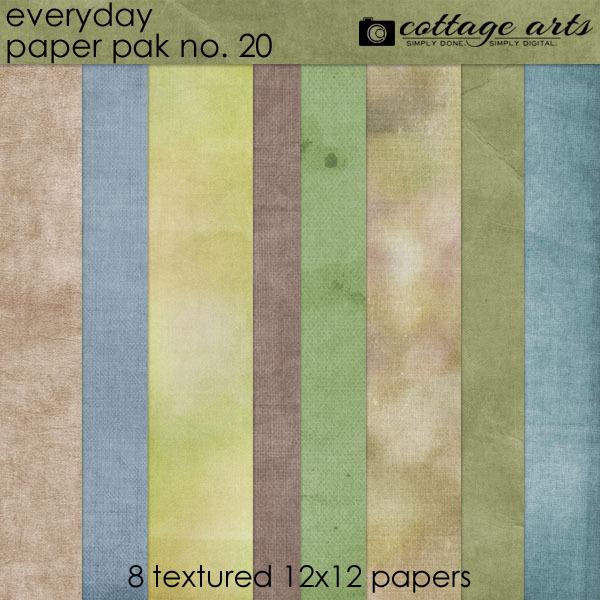 Everyday 20 Paper Pak