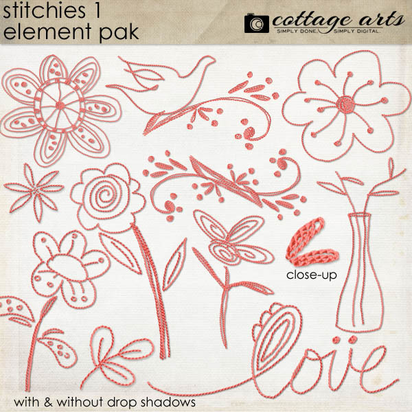 Stitchies 1 Element Pak