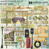World Travels 2 Page Pak