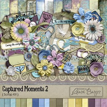 Captured Moments 2 Scrap Kit