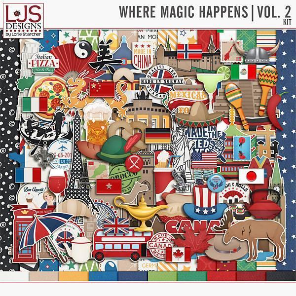 Where Magic Happens Vol. 2 - Kit