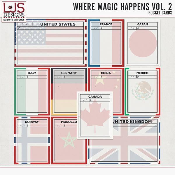 Where Magic Happens Vol. 2 - Pocket Cards
