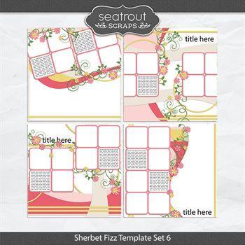 Sherbet Fizz Template Set 6