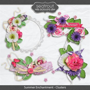 Summer Enchantment Clusters