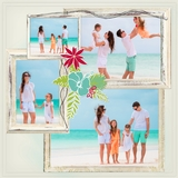 Enchanted Tropical Vacation 12x12 Predesigned Pages