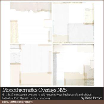 Monochromatics Overlays No. 05