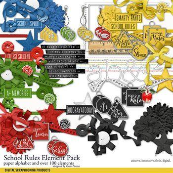 School Rules Element Pack