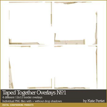 Taped Together Overlays No. 01