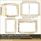Taped Together Photo Frames No. 01