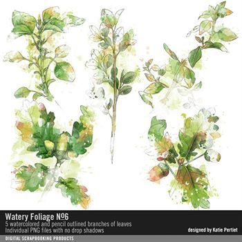 Watery Foliage No. 06