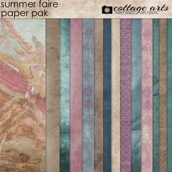 Summer Faire Paper Pak