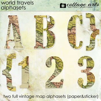 World Travels AlphaSets