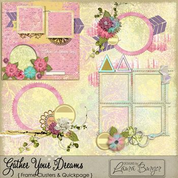 Gather Your Dreams Cluster Add Ons And Quickpage