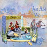 Just Add Water Scrap Kit