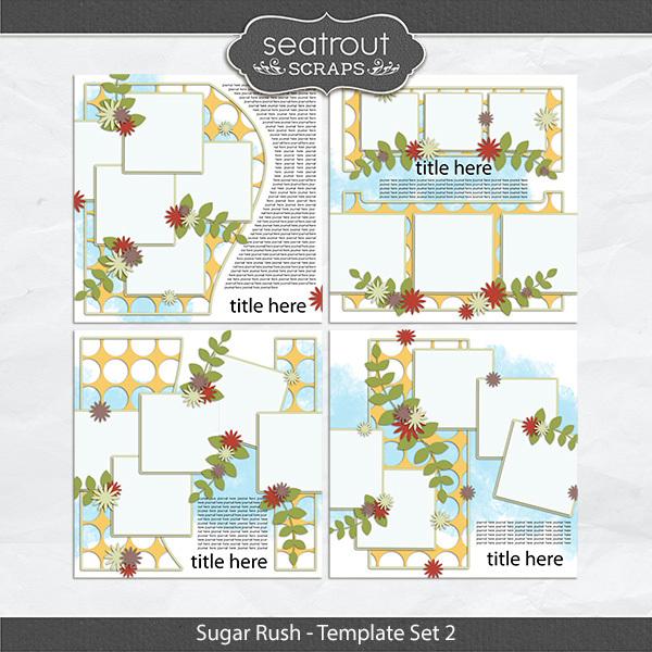 Sugar Rush Template Set 2