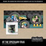 At The Speedway Mug