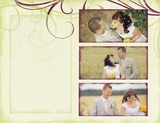 Wedding Romantic Autumn 11x8.5 Predesigned Pages