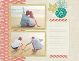 Sunshine Getaway 12x12 Digital Predesigned Pages