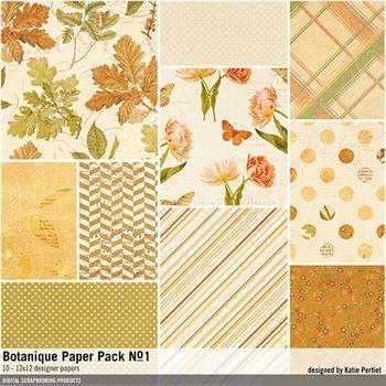 Botanique Paper Pack