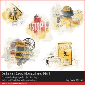 School Days Blendables No. 01