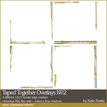 Taped Together Overlays No. 02