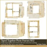 Taped Together Photo Frames No. 02