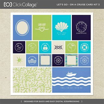 Let's Go On A Cruise Card Kit 3