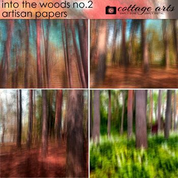 Into The Woods 2 Artisan Papers
