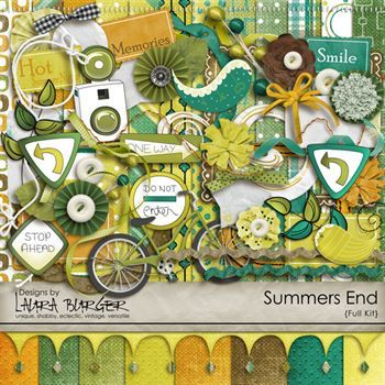 Summer End Scrap Kit