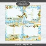 Sugar Rush Template Set 6