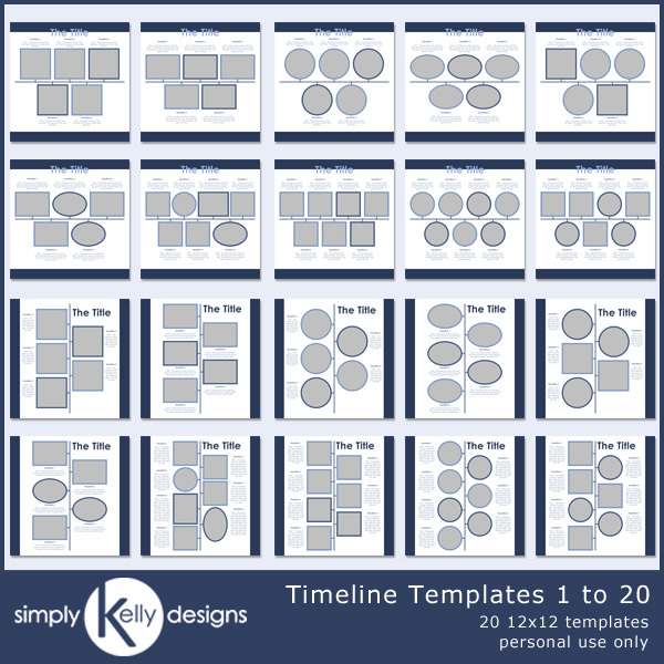 Timeline Templates 1 To 20