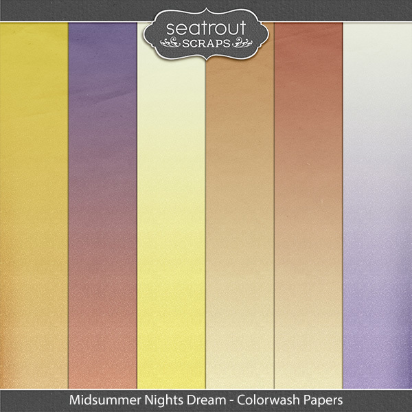 Midsummer Nights Dream Colorwash Papers