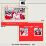 Operation Candy Cane - 7x5 Cards