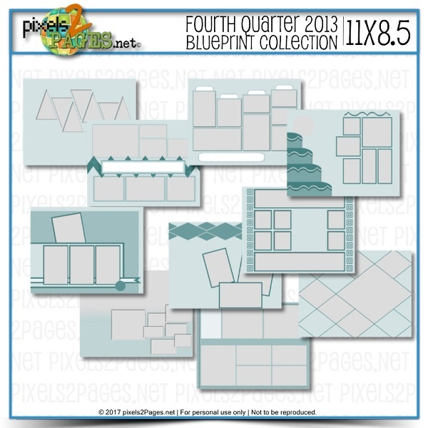 11x8.5 Fourth Quarter 2013 Blueprint Collection