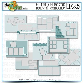 11x8.5 Fourth Quarter 2013 Blueprint Collection