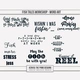 Fish Tales Workshop - Word Art