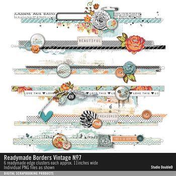 Readymade Borders Vintage No. 07