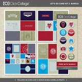 Let's Go Travel Card Kit 2 Bundle