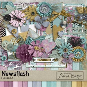 Newsflash Scrap Kit