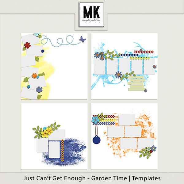 Just Can't Get Enough Garden Time - Templates