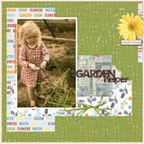 Just Can't Get Enough Garden Time - Page Kit