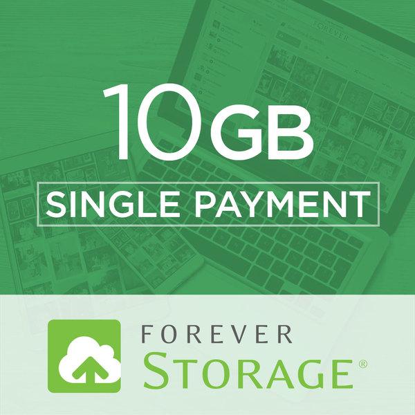 10 GB Storage