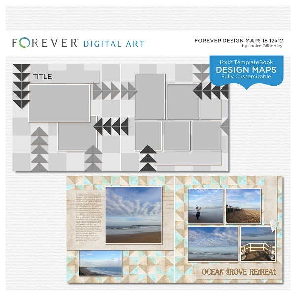 Forever Design Maps 18 12x12