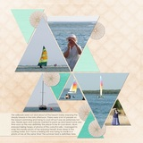 Beach Treasures Pre-Designed Book