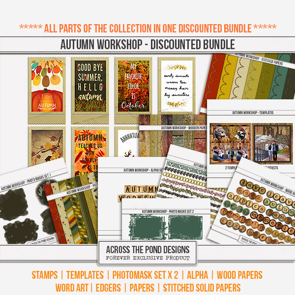 Autumn Workshop - Discounted Bundle