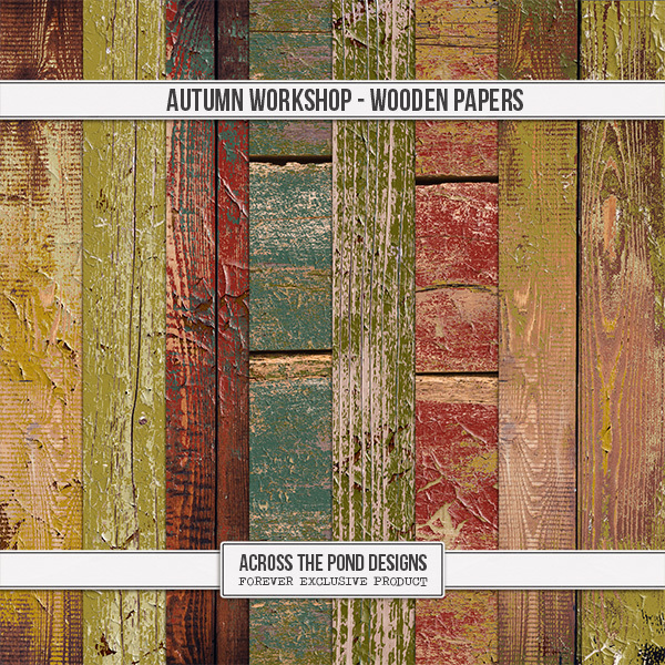 Autumn Workshop - Wood Papers
