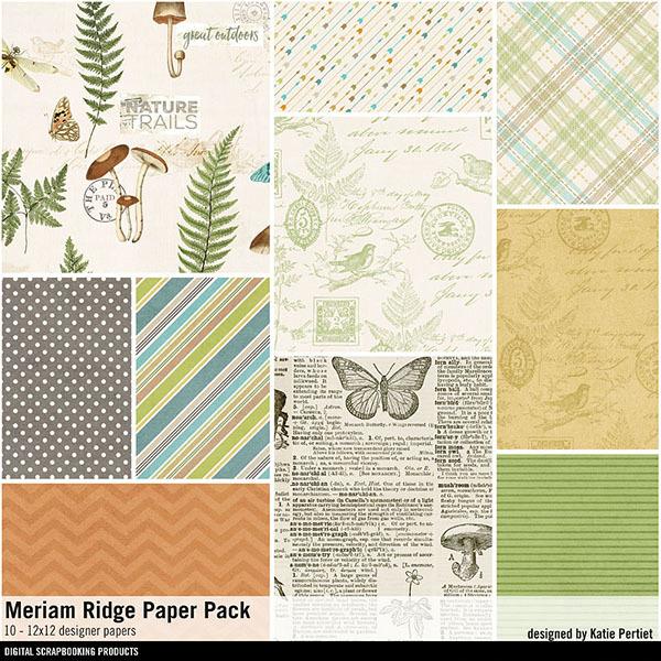 Meriam Ridge Paper Pack