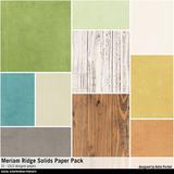 Meriam Ridge Solids Paper Pack