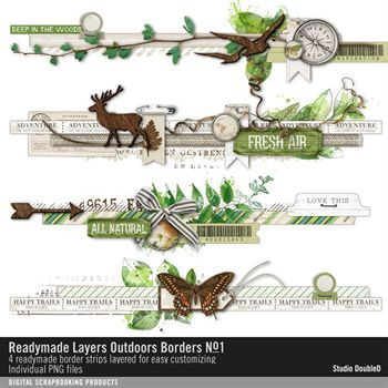 Readymade Layers Outdoors Borders No. 01